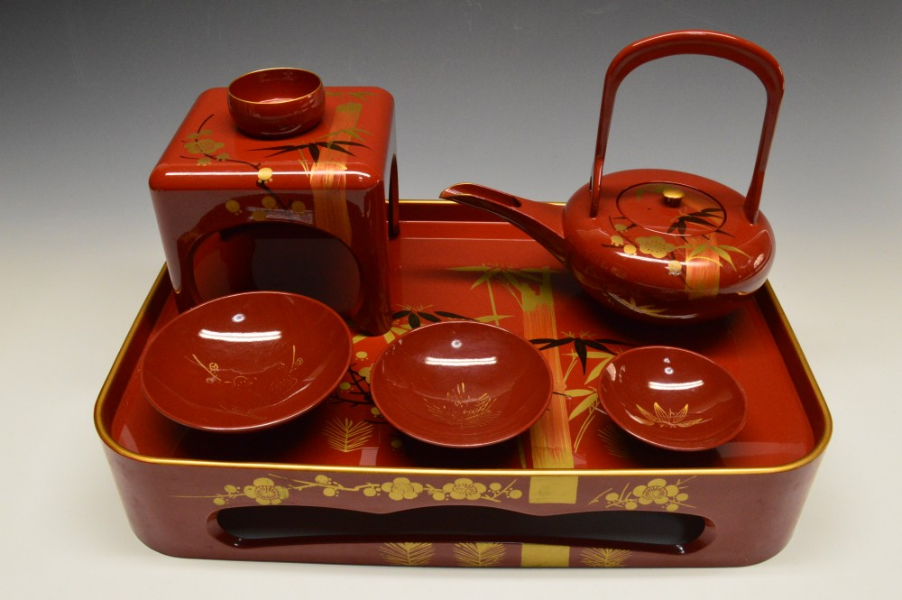 屠蘇器 漆器 正月 縁起物 Toso, Tosoki, New Year tradition, lacquerware, Sake